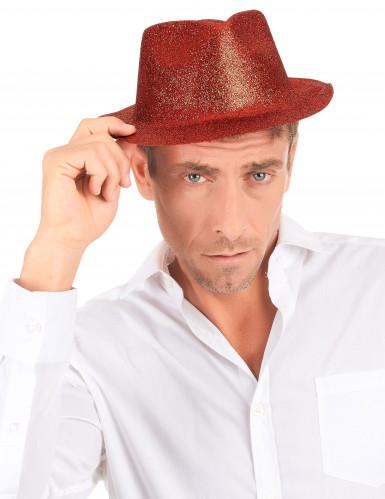 Chapéu vermelho brilhante adulto-2
