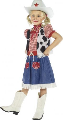 Disfarce de cowgirl menina