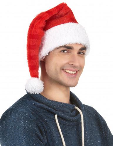 Gorro Pai Natal às riscas-1