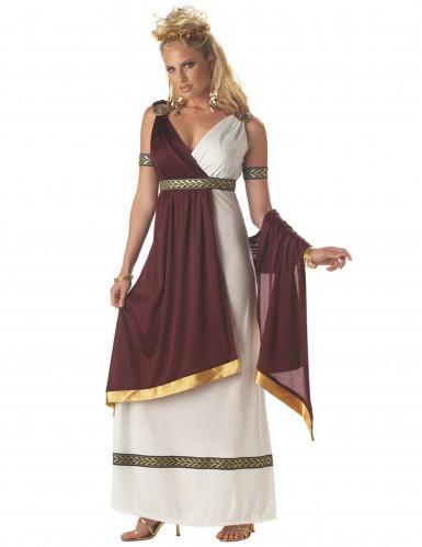 Disfarce de imperadora romana mulher