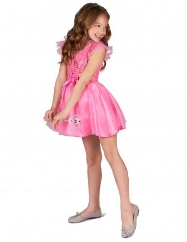 Disfarce princesa cor de rosa para rapariga-1