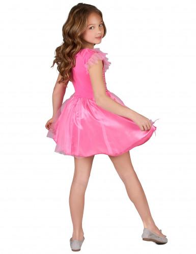 Disfarce princesa cor de rosa para rapariga-2