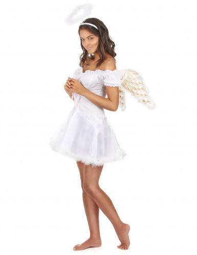Disfarce de anjo para mulher-1