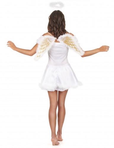 Disfarce de anjo para mulher-2