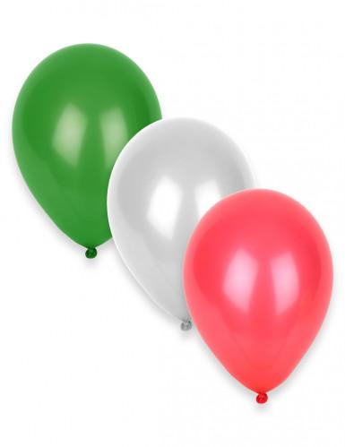 12 Balões coloridos Itália 27 cm