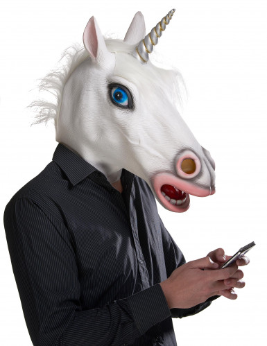 Máscara unicórnio - adulto