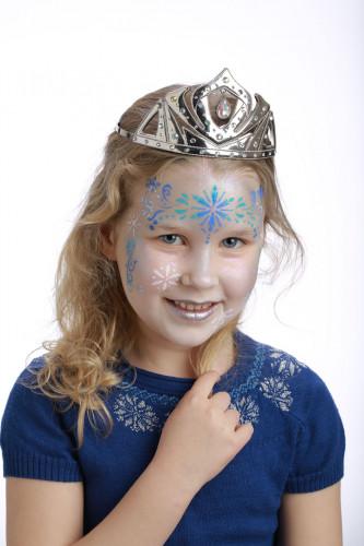 Stencil de maquilhagem reutilizável Princesa do gelo Grim Tout-1