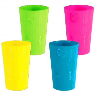 Copos de plástico Havaí