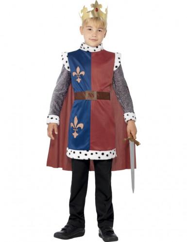 Disfarce de Rei medieval para rapaz