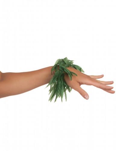Pulseira ou tornozeleira folhas tropicais!-2