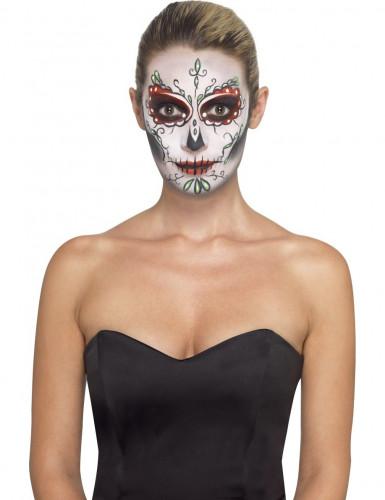 Kit de maquilhagem esqueleto colorido
