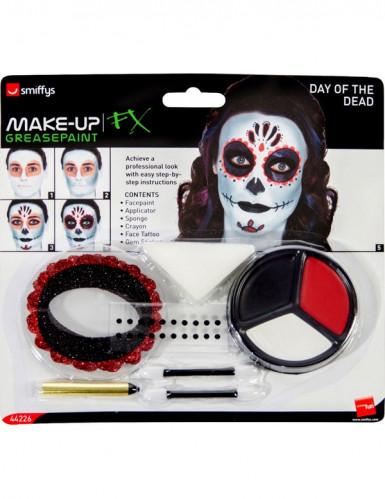 Kit de maquilhagem esqueleto colorido-1