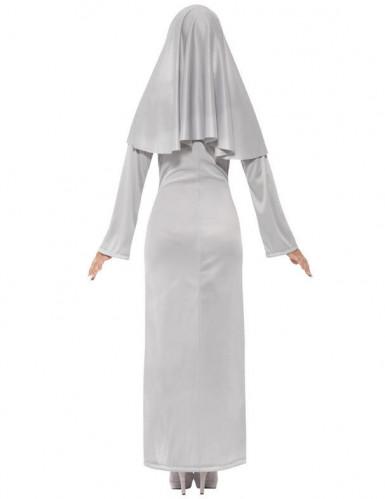 Disfarce freira fantasma mulher Halloween-2