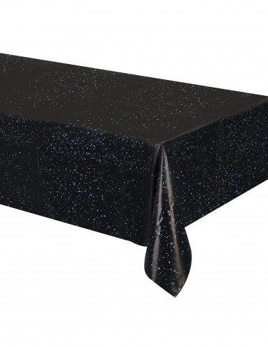 Toalha de plástico aniversário do espaço 137 x 274 cm