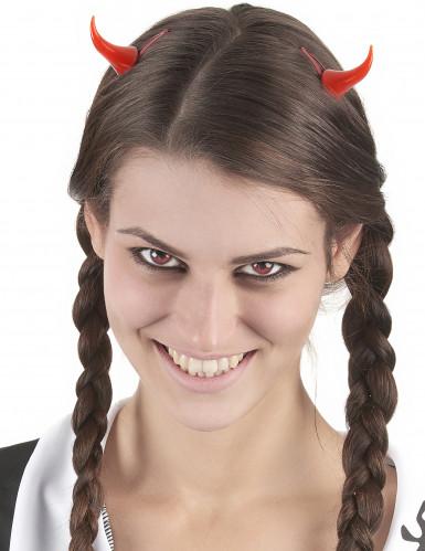 Chifres de diabo com travessões Halloween-1