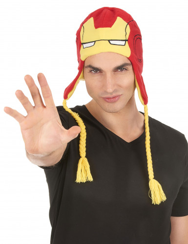 Gorro Iron Man™ adulto-1