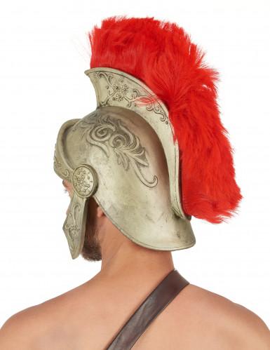 Capacete em latex para guerreiro romano em tamanho de adulto-1