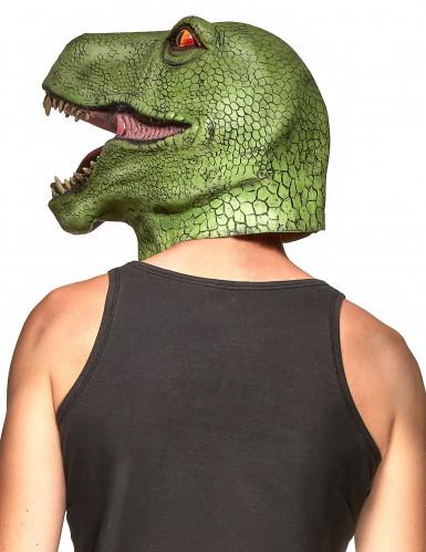 Máscara de dinossauro adulto-1