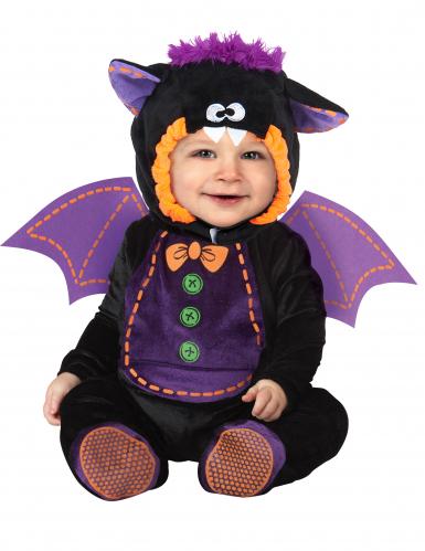 Disfarce morcego para bébé - Clássico