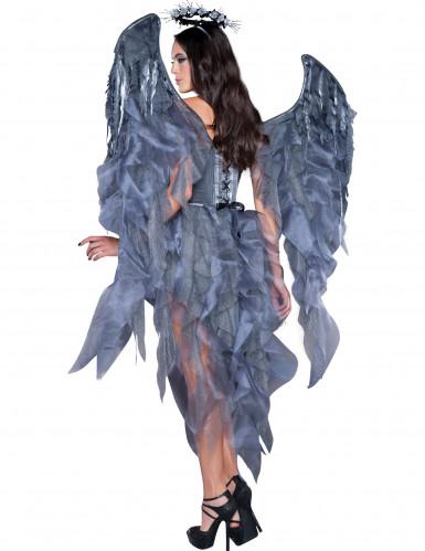 Disfarce Premium de anjo e demónio para mulher-1