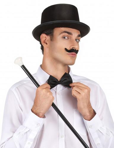 Chapéu alto preto para adulto-1
