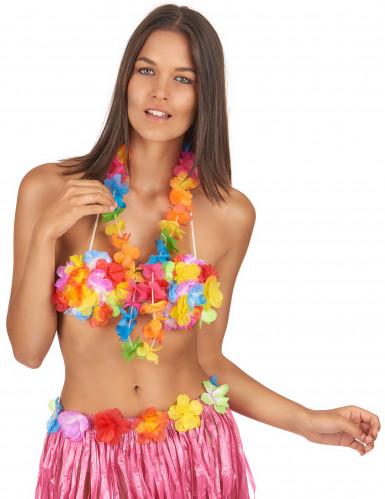Colar Havaiano cores vivas-1