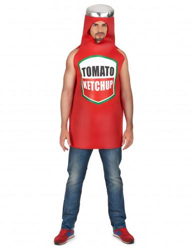 Disfarce de Ketchup para adulto
