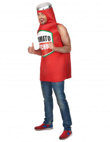 Disfarce de Ketchup para adulto-1