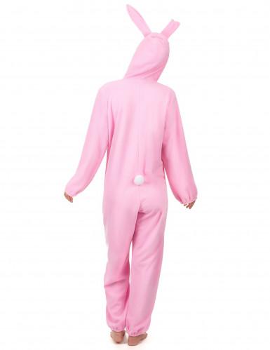 Disfarce de coelho cor-de-rosa para mulher-2