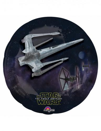Balão de alumínio Star Wars VII™ 81 x 81 cm-1