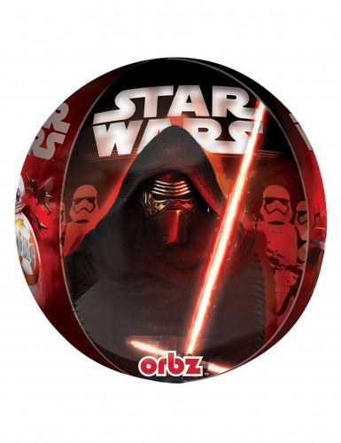 Balão de alumínio Star Wars VII™ 38 x 40 cm