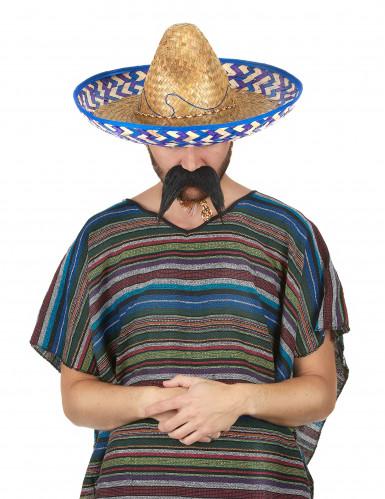 Chapéu mexicano em palha para adulto-1