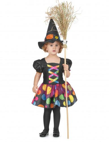 Disfarce bruxa para menina