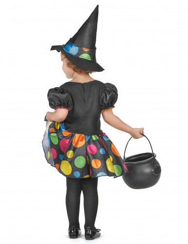 Disfarce bruxa para menina-2