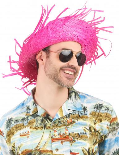 Chapéu cor-de-rosa Havai-1