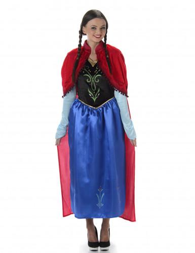 Disfarce princesa de contos de fadas mulher