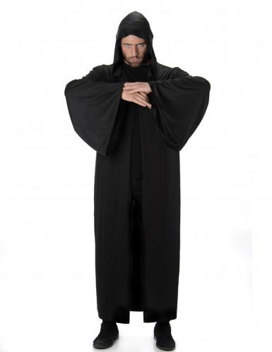 Capa comprida com capuz homem Halloween