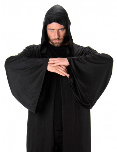 Capa comprida com capuz homem Halloween-1