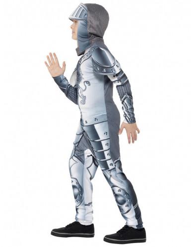 Disfarce Cavaleiro com armadura menino-1