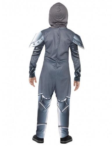 Disfarce Cavaleiro com armadura menino-2