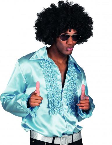 Camisa Disco azul-claro para Homem