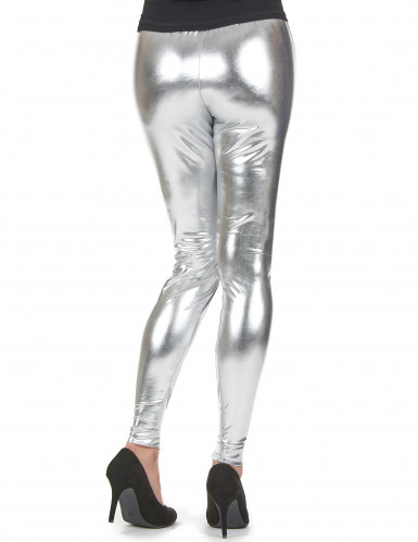 Legging prateado mulher-1