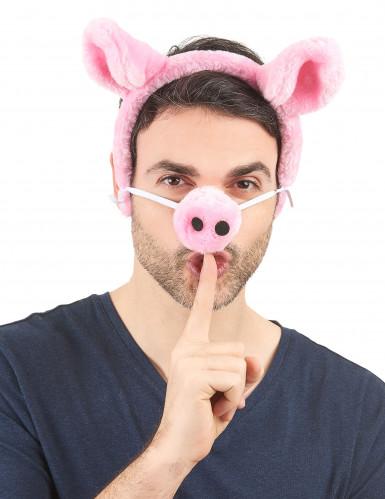 Bandolete e nariz de porco adulto-1