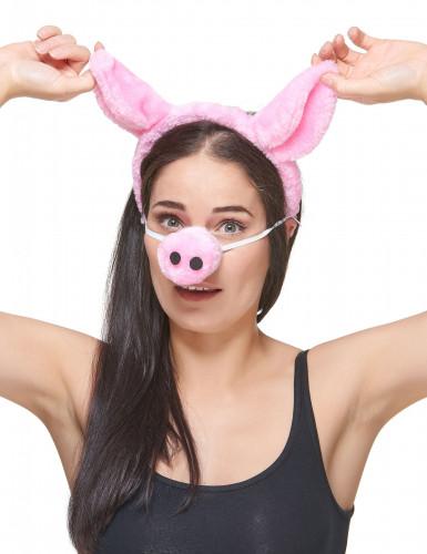 Bandolete e nariz de porco adulto-2