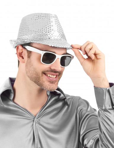 Óculos blues brancos adulto-1