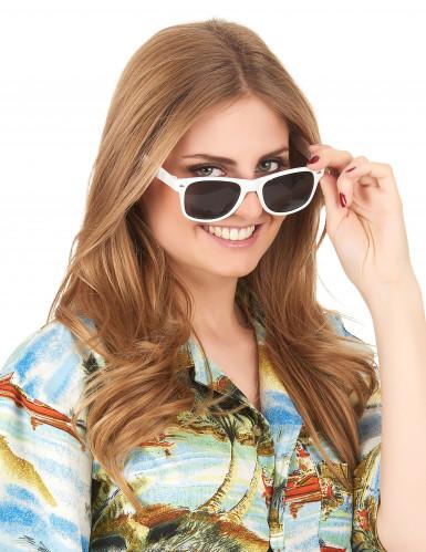Óculos blues brancos adulto-2
