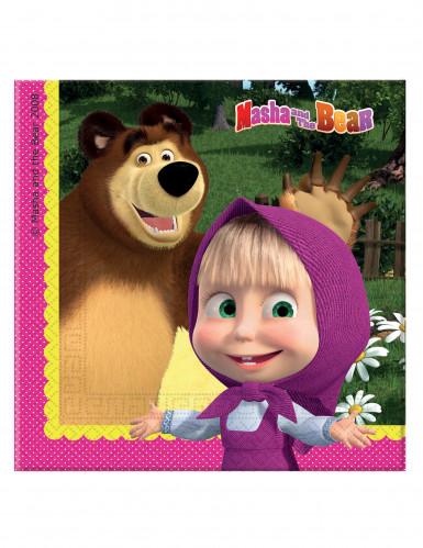 20 Guardanapos Masha e o Urso™