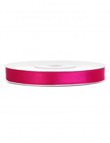 Fita acetinada cor-de-rosa