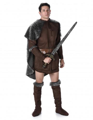 Disfarce príncipe viking homem