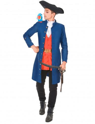 Disfarce capitão pirata homem